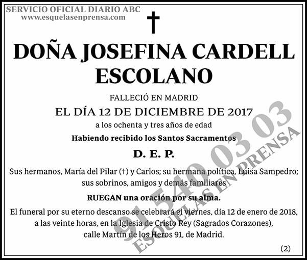 Josefina Cardell Escolano